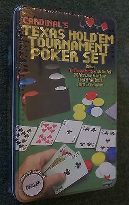 Cardinal's Texas Hold 'Em Tournament Poker Set 200