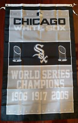 Chicago White Sox World Series 3x5 Flag. US seller. Free shipping within the US