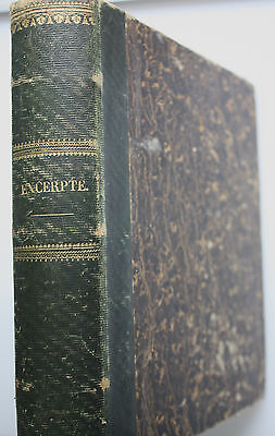 Seltene 460-seitige Handschrift des Oertly aus Ennenda ( Schweiz ) von 1858