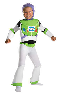 Toy Story Buzz Lightyear Deluxe Child Costume Movie Disguise 5233 - Toy Story Halloween Movie
