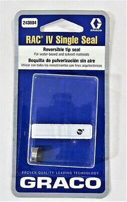 New Oem Graco 243004 Rac Iv Single Seal Reversible Tip Seal