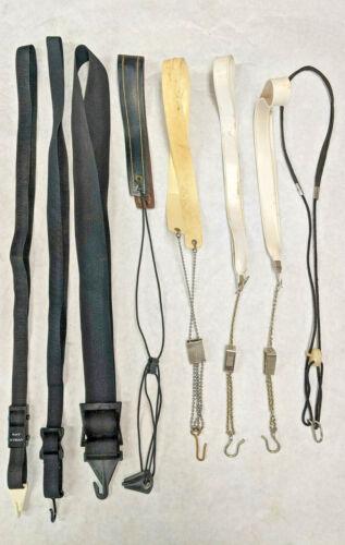 Vintage Saxophone Neck Strap Lot of 8 - Ray Hyman, Selmer Chain, Bates Sax Chain