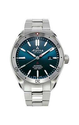 Alpina Alpiner 4 Men's Swiss Automatic Silver-Tone 45mm Watch AL-525NS5AQ6B