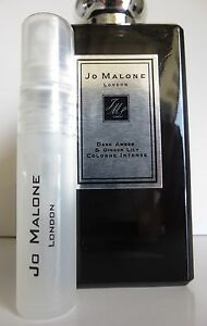 Jo Malone Dark Amber & Ginger Lily  Cologne 5ml Atomizer Spray