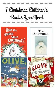 7 Christmas Children's Books You Need