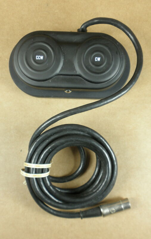 Karl Storz 28180F Foot Pedal for Vacuum Rotary- Untested