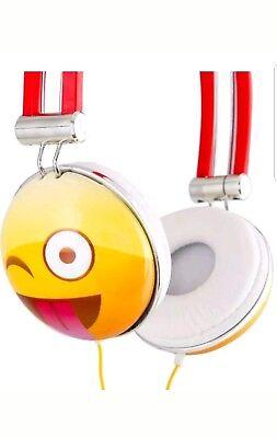 Overhead Stereo Headphone (Emoji Overhead Stereo Headphones Emoji Bluetooth  )