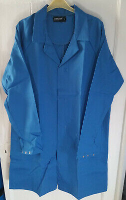 Men's Light Blue Lab / Warehouse Coat – 92cm (36