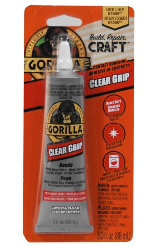 Gorilla Glue Clear Grip Contact Adhesive