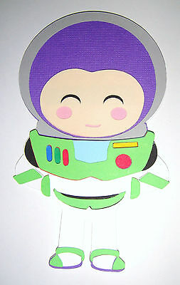 Toy Story Buzz Lightyear Paper Die Cut Paper Doll Scrapbook - Toy Story Paper