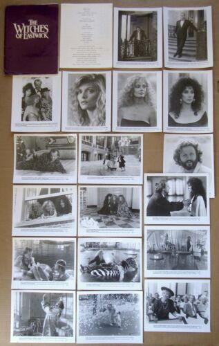WITCHES OF EASTWICK Jack Nicholson CHER Michelle Pfeiffer 18 PHOTO PRESS KIT