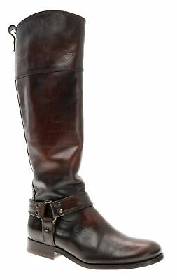 FRYE Boots 6 B Womens KNEE HIGH Equestrian Leather Harness RIDING Boots Vintage