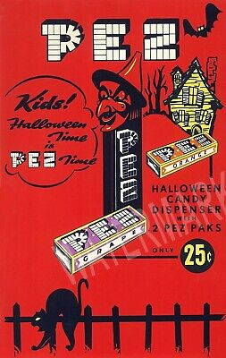 Halloween Pez Which ad High Quality Metal Magnet 3 x 4 inches Fridge 9328](Halloween Refrigerator)
