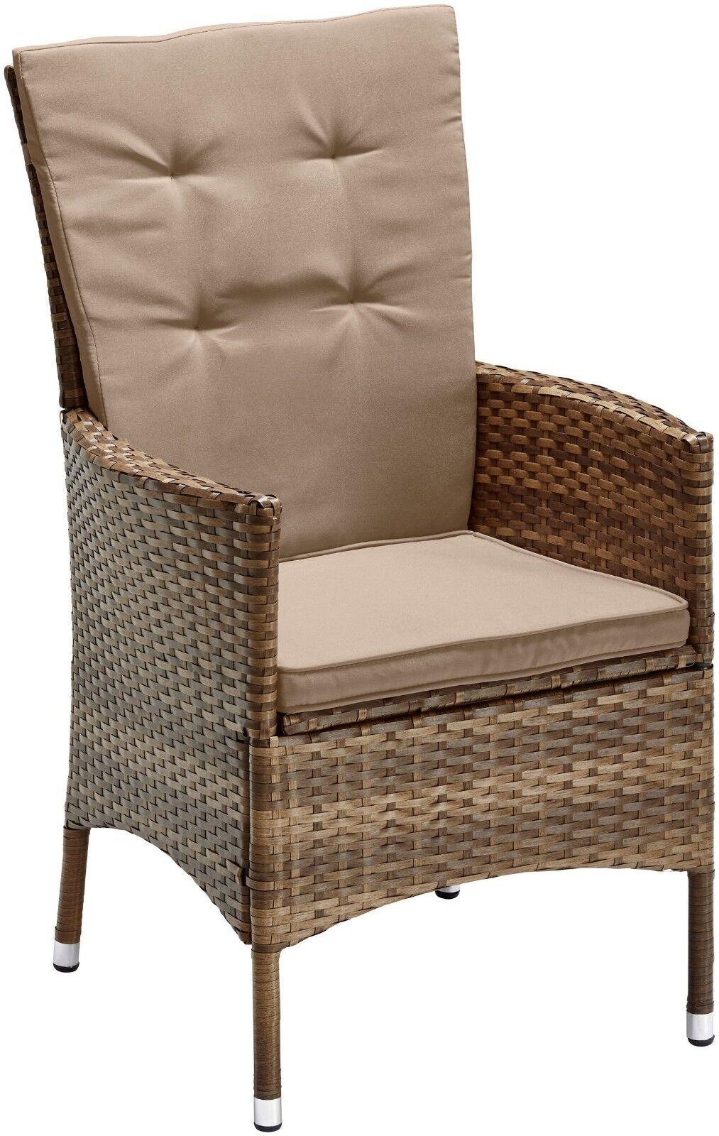 Gartenmöbelset Santiago Deluxe, 6 Sessel Stuhl Stühle  B74702315