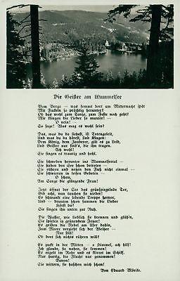Ansichtskarte Die Geister am Mummelsee  (Nr.9141)