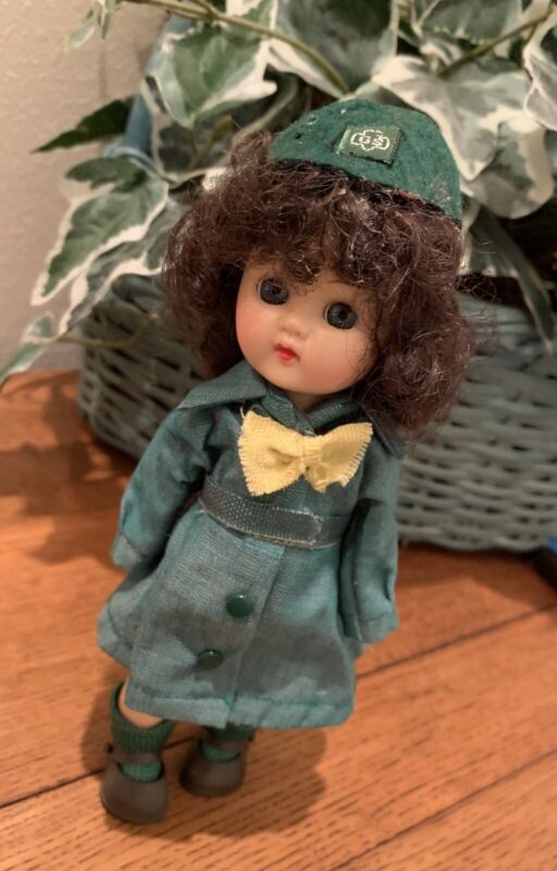 Vintage Girl Scout Doll GSA Terri Lee (tag) From Late 50's Or 60's