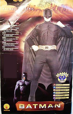 BATMAN BEGINS MUSCLE CHEST GOTHAM 56085 HALLOWEEN COSTUME NEW RUBIES MED, LARGE