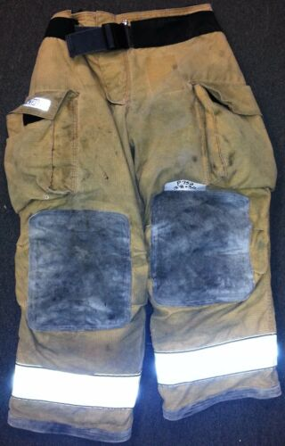 38x30 Pants Firefighter Turnout Bunker Fire Gear Globe Gxtreme P752