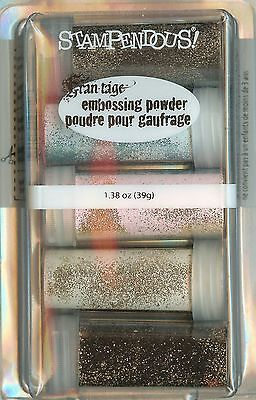 Frantage Vintage EMBOSSING Kit Collection Embossing Powders Stampendous NEW