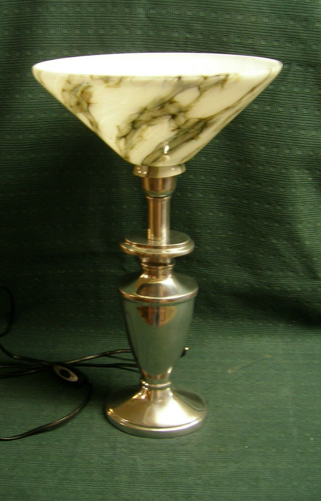stehlampe mit lampenschirm berfangglas unikat eur 98 00 picclick de. Black Bedroom Furniture Sets. Home Design Ideas