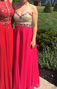 Pink Sparkly Prom Dress for Sale!!