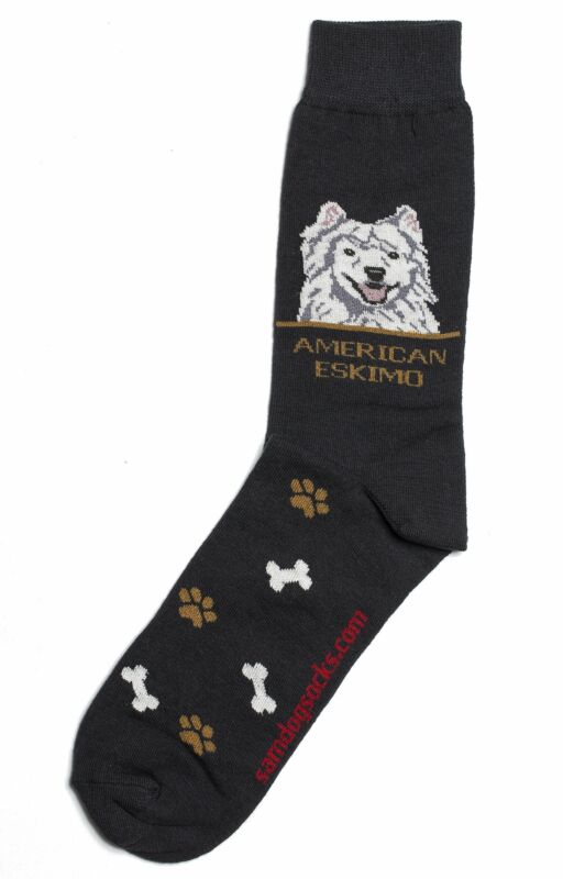 American Eskimo Dog Socks Mens