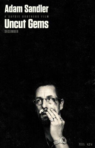 "Uncut Gems movie poster  - 11"" x 17"" - Adam Sandler"