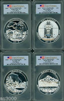 Click now to see the BUY IT NOW Price! 2010 2011 2012 2013 2014 2015 2016 ATB 5 OZ SILVER PCGS MS69 DMPL 35 COIN SET FS