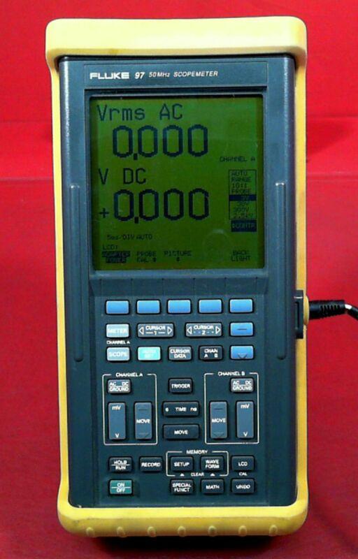 Fluke 97 50MHz Scopemeter DM5502235
