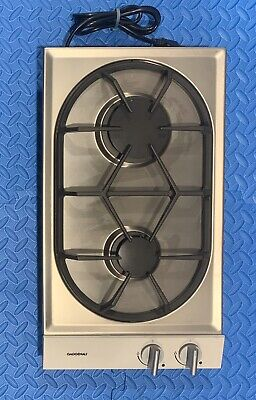 """GAGGENAU VARIO 200 SERIES 12"""" GAS DROP IN COOKTOP #VG232232CA see pics. , used for sale  Shipping to Ireland"""