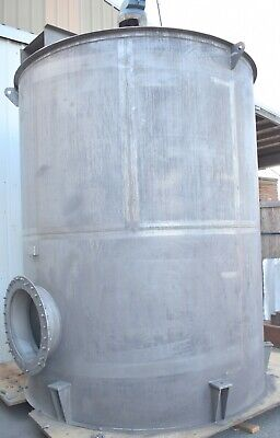 Tank Stainless 3700 Gallon Mixer Tank