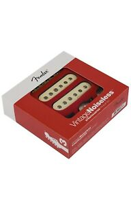 Fender Vintage Noiseless Stratocaster Pickups Set White 3