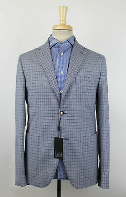 New LAB PAL ZILERI Cotton Blend Unstructured 2 Button Sport Coat 50/40 R $650