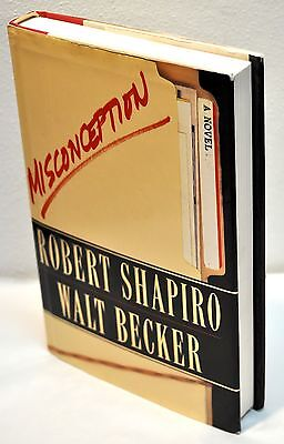 Robert Shapiro   Walt Becker   Misconception  1St Edition   1St Printing Hc Dj