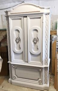 GORGEOUS Princess Solid Wood Armoir with doors/drawers-265$