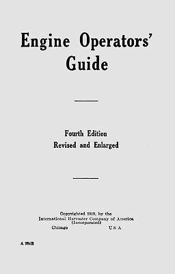 Ihc Engine Operators Guide