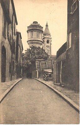 carte postale - (75) Paris - CPA - Montmartre - Aspect de la rue Cortot