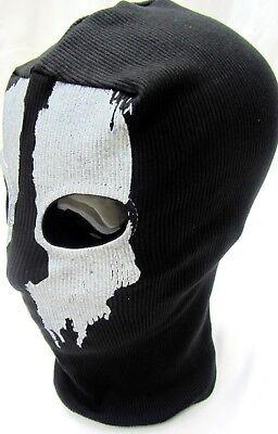 call of duty GHOST FACE MASK 1 Size Balaclava Halloween Mask Biker Hood ()