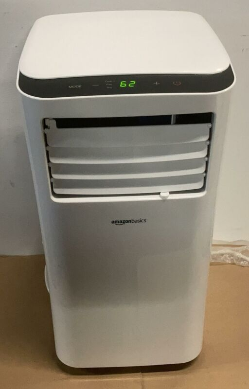 Amazon Basics Portable Air Conditioner with Remote - Cools 400 Square Feet,