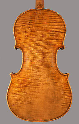 A very fine, old French violin made by Paul Bailly, 1890 on Rummage
