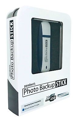 Photo Backup Stick 64GB USB Video Backup & Picture Keeper Device for Windows - Photo Stick