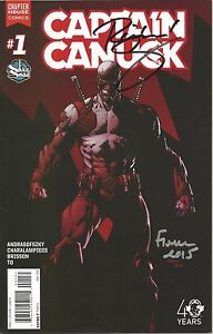 Captain Canuck #1 (Variant) by Richard Comely & David Finch