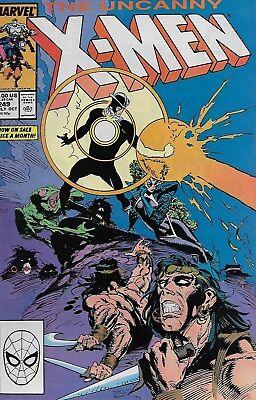 The Uncanny X-Men (Vol.1) No.249 / 1989 Chris Claremont & Marc Silvestri