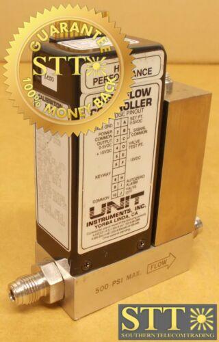Ufc-1100a Unit Mass Flow Controller High Performance Range 300 Sccm Gas C12