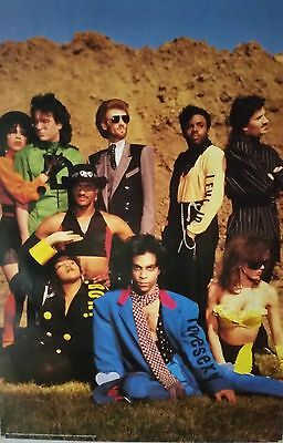Prince    With Band Love Sexy Original Poster