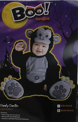 Halloween Baby Boo Goofy Gorillla Toddler Costume Size 12-18 months - 12 18 Month Halloween Costumes