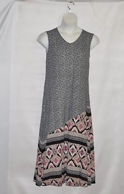 Petite Length - Joan Rivers Petite Length  Sleeveless Maxi Dress Size SP Black