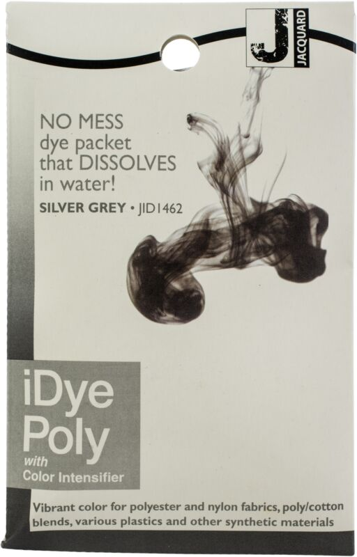 Jacquard IDYE-462 iDye Poly, 14 Grams, Silver Grey