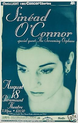 SINEAD O'CONNOR / SCREAMING ORPHANS 1997 DENVER CONCERT TOUR POSTER
