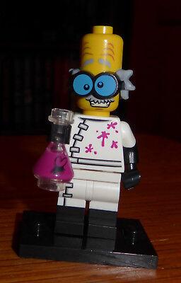 Lego - Halloween  Minifigures Series 14 - Monster Scientist - Complete - Retired - Lego Minifigures Series 14 Halloween